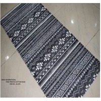 Stone Wash Printed Cotton Rugs
