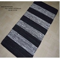 Leather & Cotton Rugs