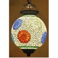 Gl. Round Hanging Lamp