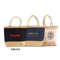 Jute Beach Bag With Cotton Webbed