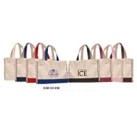 Cotton Canvas Shopping / Beach Bag