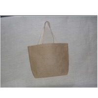 Natural Jute Bag With Cotton Tape Handle