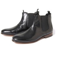 Leather Z Black Boot