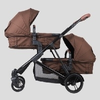 Korean Deluxe Sesto Twin Black Edition Stroller
