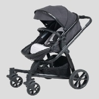 Korean Deluxe Crown S Black Edition Stroller