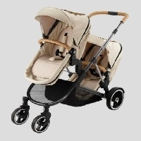 Korean Deluxe Sesto Twin Stroller