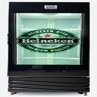 Transparent LCD Fridge