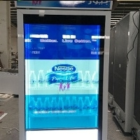 Bottle Transparent LCD Display