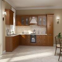 Kitchen Flavia Deco Solid Oak