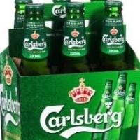 Green Label Carlsberg Beer