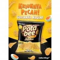 Pota Bee Snack 68g Salted Egg