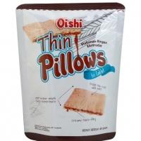 Oishi Thin Pillows Fill Chocolate