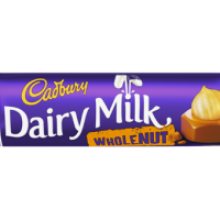 Cabdury Wholenut 100g