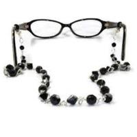 Facet Glass Beads Eyeglass Chain