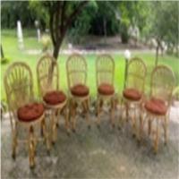 Bamboo Cane Chair