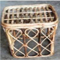 Bamboo Cane Stool