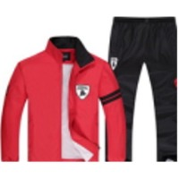 Men Zip Openng Track Suit