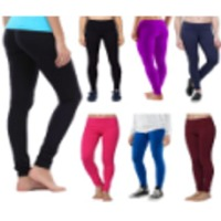 Women Cotton Churidaar Legging