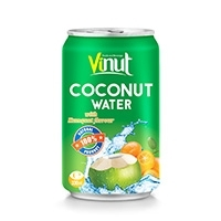 330ml Kumquat Flavour Coconut water