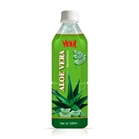 Natural Aloe Vera Juice Bottle