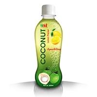 350ml Lemon Sparkling Coconut Water