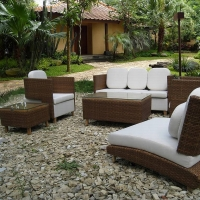 Poly Rattan Sofa Set Prsf -022