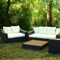 Poly Rattan Sofa Set Prsf -023