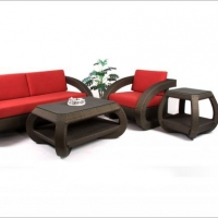 Poly Rattan Sofa Set prsf -025