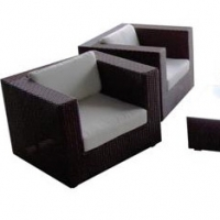 Poly Rattan Sofa Set Prsf -026