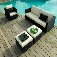 Poly Rattan Sofa Set prsf -027