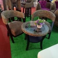 Water Hyacinth Coffee Set