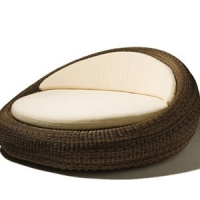 Poly Rattan Daybed