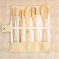Eco Friendly-Bamboo Cutlery Set