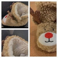 Winter Baby Christmas Soft Bottom Toddler Shoes