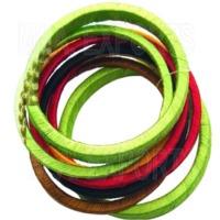 Wrapped Thread Bangle