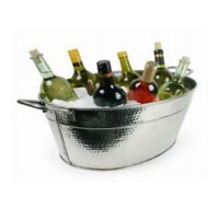 Hammered-SS Party Tubs