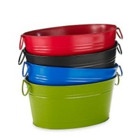 Galvanized Colored Party Tubs