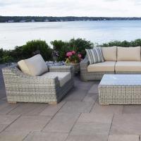 Wicker Rattan Patio Outdoor Garden Lounge Set