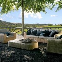 Wicker Rattan Big Outdoor Garden Sofa Set