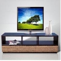 Water Hyacinth TV Stand