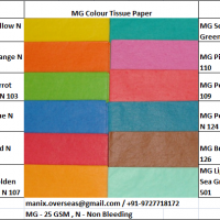 Mg Colour Packing Tissue Paper