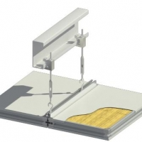 PIR/Rockwool Sandwich Panel For Cleanroom