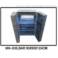 MIN-036, Bar 90x90x124CM