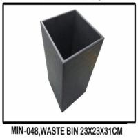 MIN-048, Waste Bin 23x23x31CM