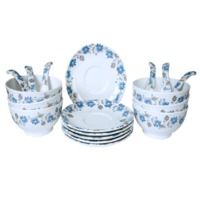 18 Pcs Soup Bowl Set