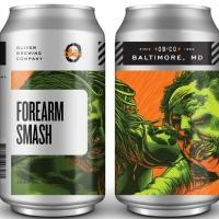 Forearm Smash Double IPA Abv 8.0% Beer