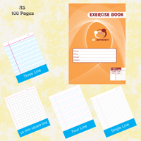 Exercise Notebook A5-100 Pages