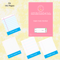 Exercise Notebook A5-140 Pages