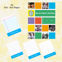 Exercise Notebook A4-200-300 Pages