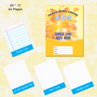Exercise Notebook 17X24-60 Pages